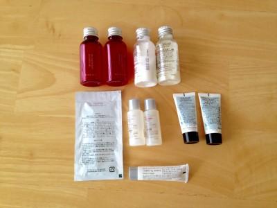 化粧品サンプルの整理